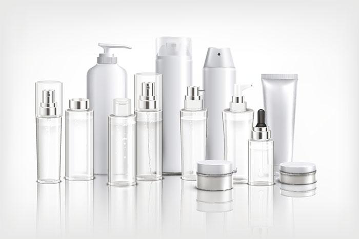 Etiquetas adhesivas para productos de cosmética