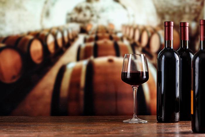 Etiquetas adhesivas para botellas de vino